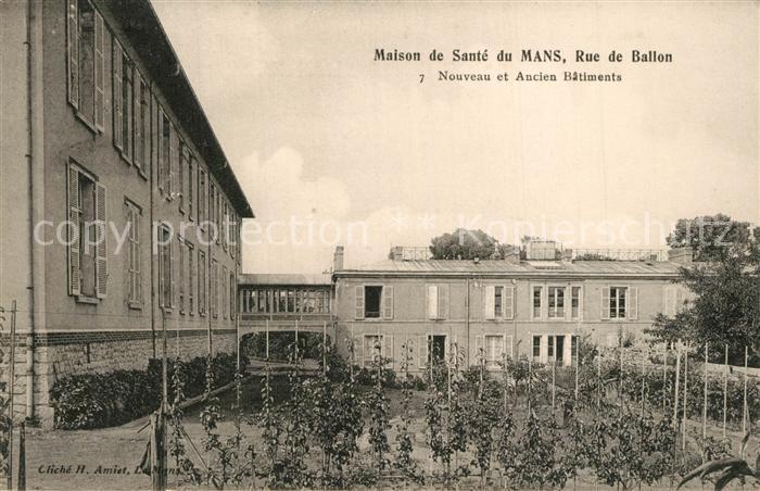 Mans_Sarthe_Le Maison de Sante du Mans Rue de Ballon Mans_Sarthe_Le