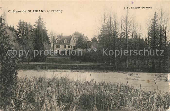 Chalon sur Saone Chateau de Glairans et l Etang Chalon sur Saone