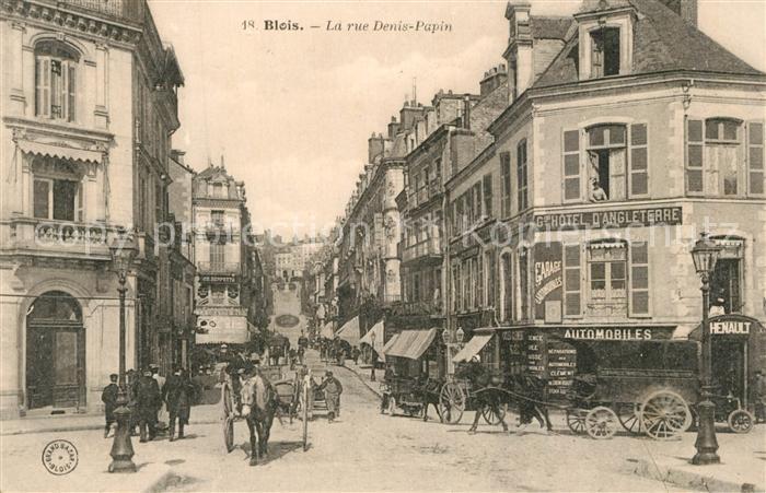 Blois_Loir_et_Cher La rue Denis Papin Blois_Loir_et_Cher