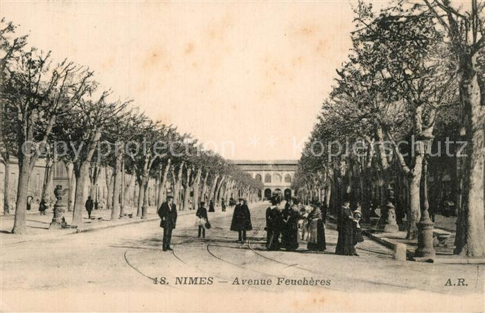 Nimes Avenue Feucheres Nimes