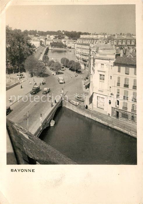 Bayonne_Pyrenees_Atlantiques Vue partielle Bayonne_Pyrenees