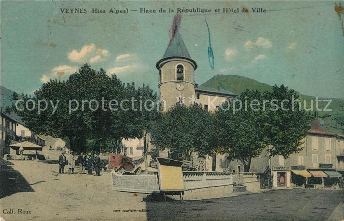 Veynes Place de la Republique Hotel de Ville Veynes