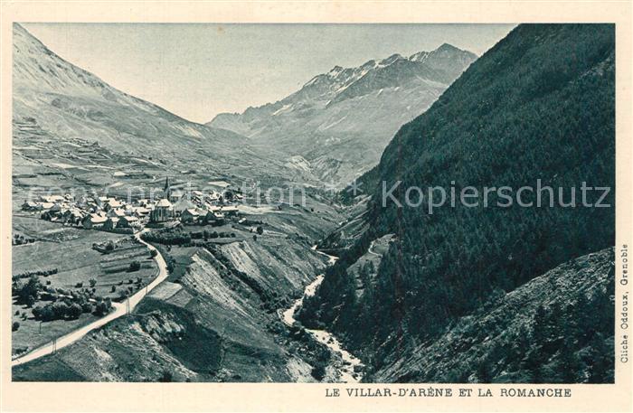 Villar d_Arene_Hautes_Alpes et la Romanche Alpes Villar d_Arene