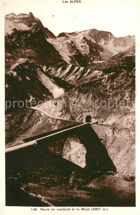 Le_Lautaret Route du Lautaret et la Meije Alpes Dauphine Le_Lautaret