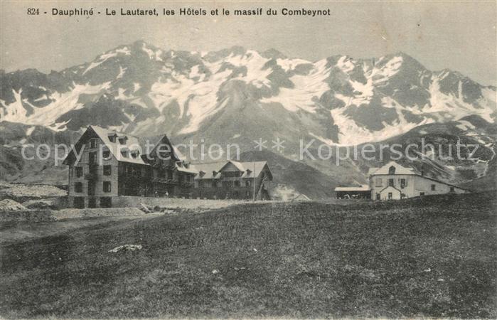 Col_du_Lautaret Les Hotels et Massif du Combeynot Alpes Francaises Col_du_Lautaret