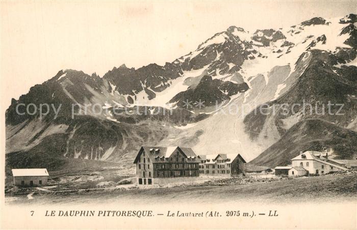 Col_du_Lautaret Les Hotels Glacier Alpes Dauphine Berghotels Gletscher Franzoesische Alpen Col_du_Lautaret