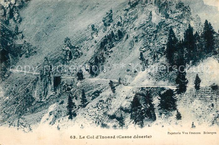Col_d_Izoard Gebirgspass Franzoesische Alpen Col_d_Izoard
