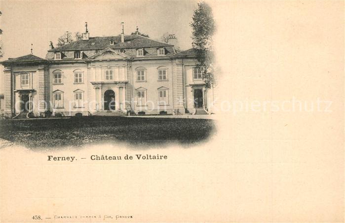 Ferney Voltaire Chateau de Voltaire Schloss Ferney Voltaire
