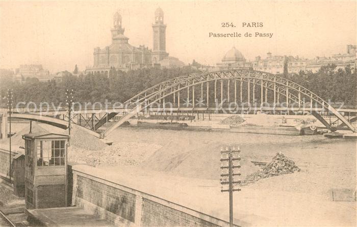 Paris Passerelle de Passy Paris