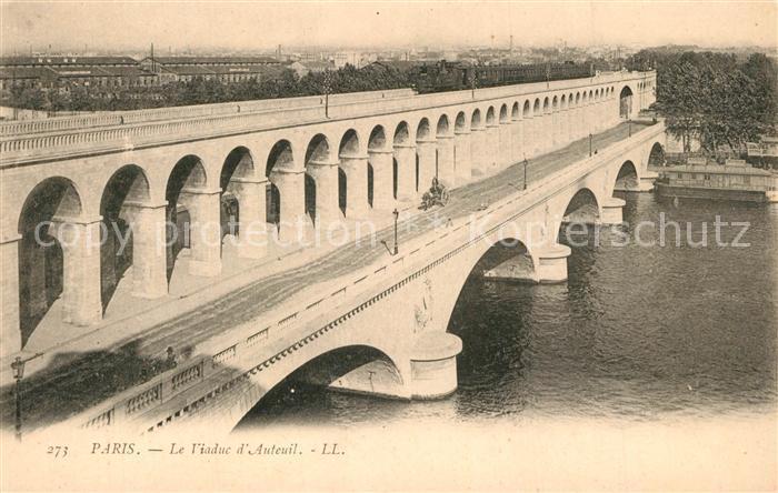 Paris Viaduc d Auteuil Paris