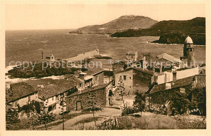 Collioure Entree de la Baie Cote Vermeille Collioure