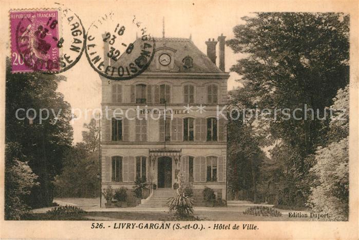 Livry Gargan Hotel de Ville Livry Gargan