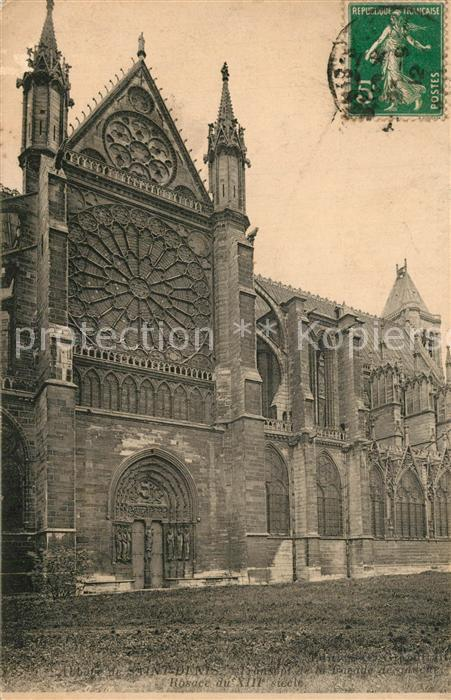 Saint Denis_Seine_Saint_Denis Abbaye de Saint Denis Saint Denis_Seine