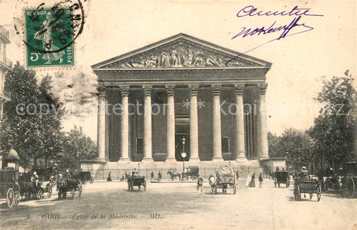 Paris Eglise de la Madeleine Paris