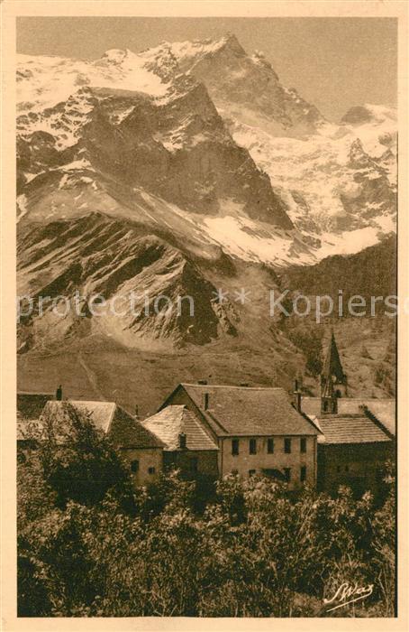 La_Grave Village et la Meije Alpes La_Grave