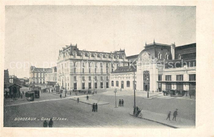 Bordeaux Gare Saint Jean Bahnhof Bordeaux