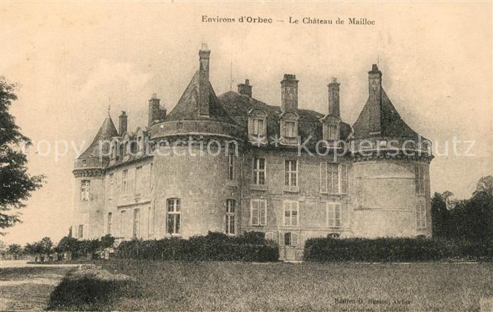 Orbec Chateau de Mailloc Orbec