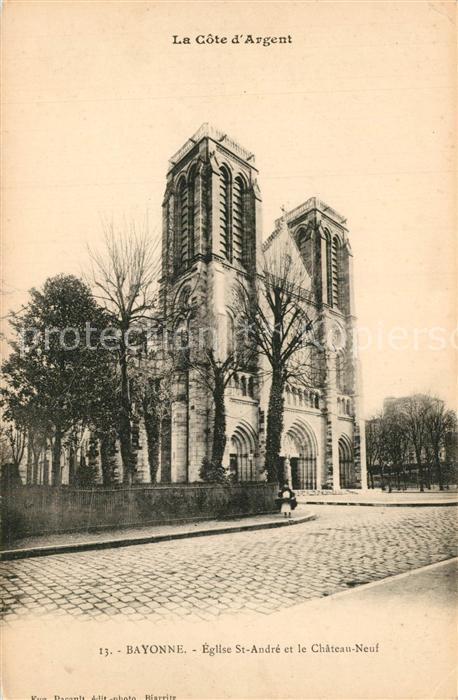 Bayonne_Pyrenees_Atlantiques Eglise Saint Andre Chateau Neuf Bayonne_Pyrenees