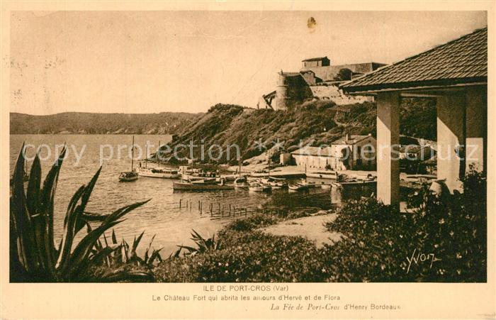 Ile_de_Port Cros Chateau Fort Cote d Azur Ile_de_Port Cros