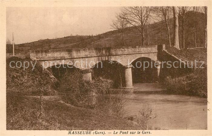 Masseube Pont sur le Gers Masseube