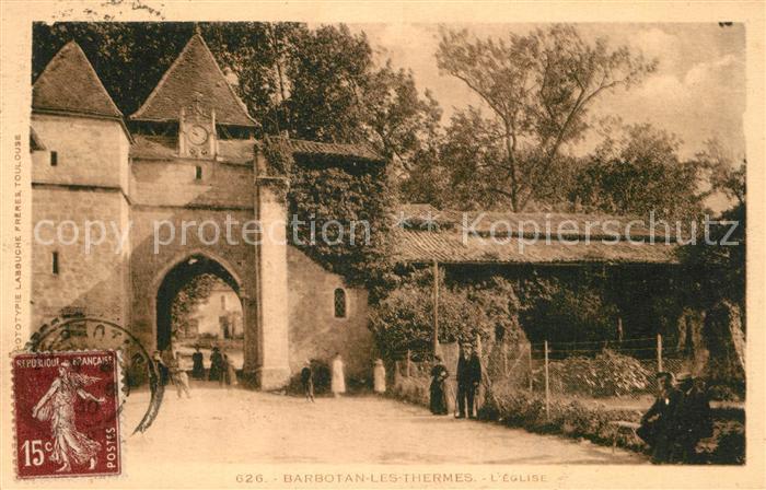 Barbotan_les_Thermes Eglise Barbotan_les_Thermes