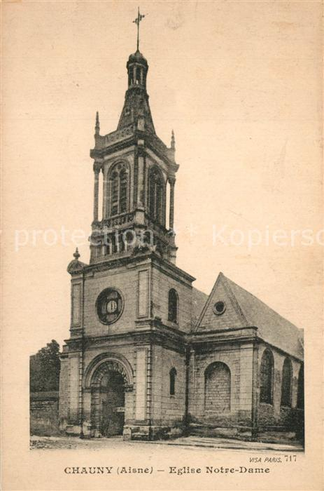 Chauny_Aisne Eglise Notre Dame Chauny Aisne