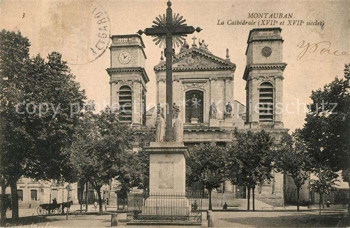 Montauban_Tarn et Garonne Cathedrale