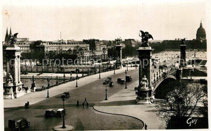 Paris Pont Alexandre  Paris