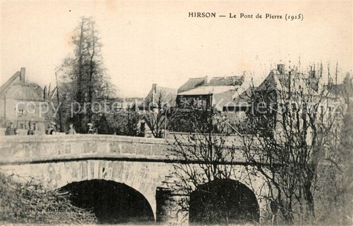 Hirson Pont de Pierre Hirson