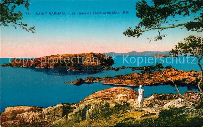 Saint Raphael_Var Les Lions de Terre et de Mer  Saint Raphael Var