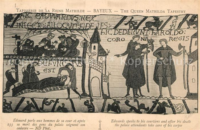 Bayeux Tapisserie de la Reine Mathilde Bayeux