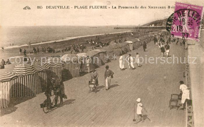 Deauville Plage Fleurie Promenade  Deauville