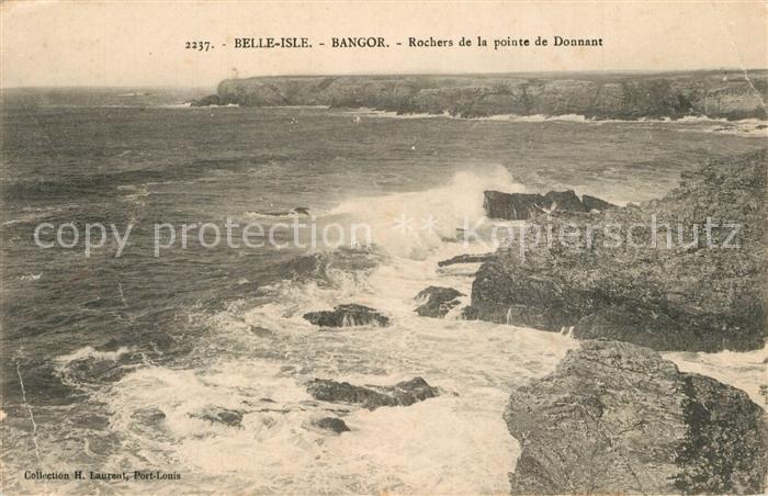 Bangor_Belle Ile en Mer Rochers de la pointe de Donnant