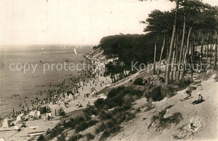 AK / Ansichtskarte Arcachon_Gironde Plage Arcachon Gironde