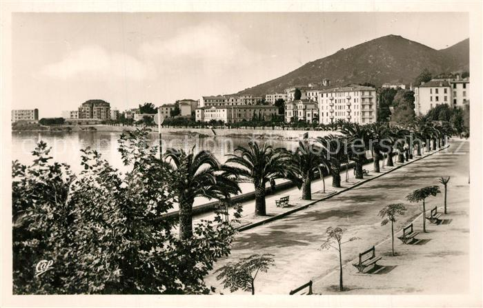 AK / Ansichtskarte Ajaccio Boulevard Albert 1. Ajaccio