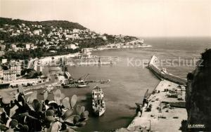 AK / Ansichtskarte Nice_Alpes_Maritimes Port et Cap de Nice Nice_Alpes_Maritimes