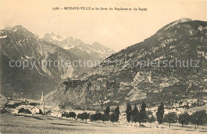 AK / Ansichtskarte Modane et les Forts du Replaton et du Sapey Modane
