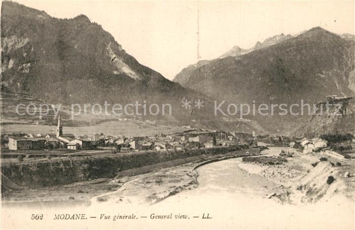 AK / Ansichtskarte Modane Vue generale Alpes Modane