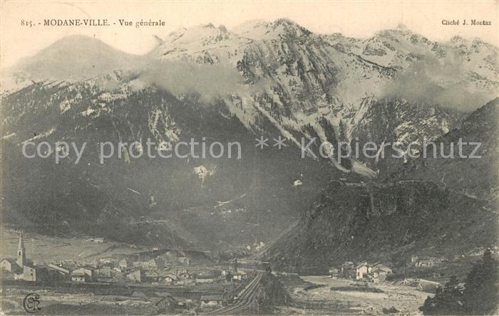 AK / Ansichtskarte Modane Vue generale et les Alpes Modane