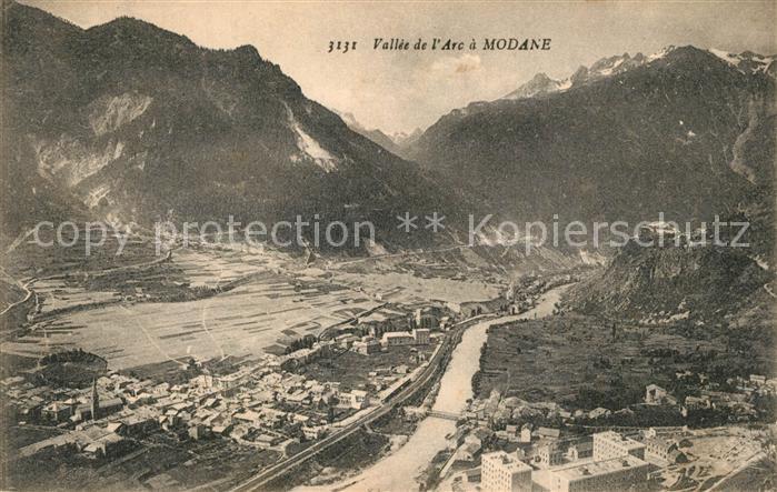 AK / Ansichtskarte Modane Panorama Vallee de l Arc et les Alpes Modane