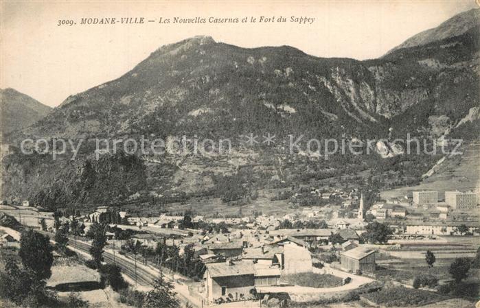AK / Ansichtskarte Modane Les nouvelles casernes et Fort du Sappey Modane