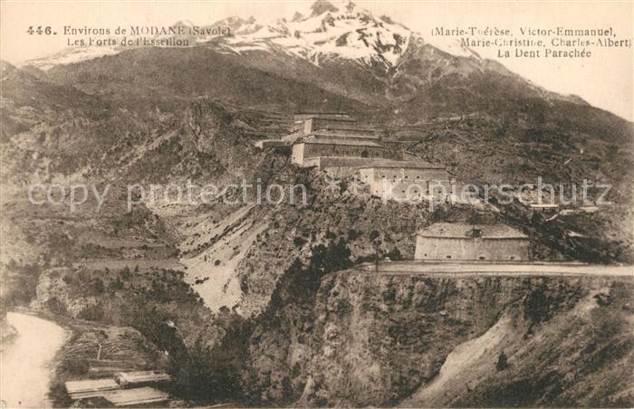 AK / Ansichtskarte Modane Les Forts de l Esseillon Alpes Modane