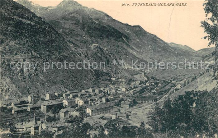 AK / Ansichtskarte Fourneaux_Modane Panorama Alpes Fourneaux Modane