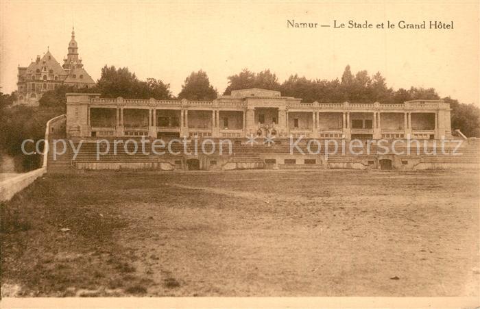AK / Ansichtskarte Namur_sur_Meuse Stade Grand Hotel  Namur_sur_Meuse
