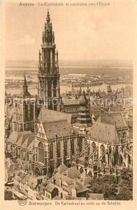 AK / Ansichtskarte Anvers_Antwerpen Cathedrale Escaut Anvers Antwerpen