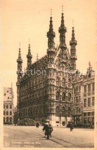 AK / Ansichtskarte Louvain_Flandre Hotel de Ville Louvain_Flandre