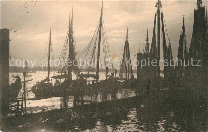 AK / Ansichtskarte Delft Hafen Fischkutter  Delft