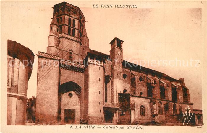AK / Ansichtskarte Lavaur_Tarn Cathedrale St Alain Lavaur Tarn