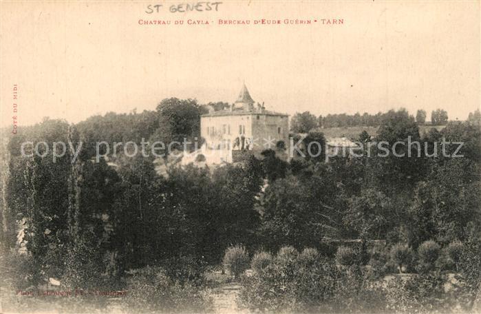 AK / Ansichtskarte Andillac Chateau du Cayla Andillac