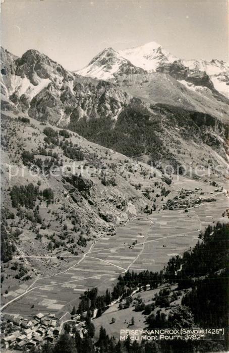 AK / Ansichtskarte Peisey Nancroix Mont Pourri  Peisey Nancroix